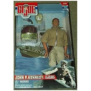 "GI Joe John F. Kennedy 12"" Action Figure PT 109 Boat Commander"