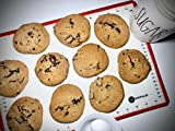 SHOPALUE Silicone Baking Mat with Measurements