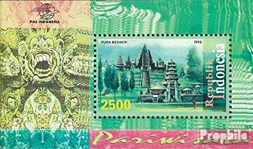 Complete.Issue. Stamps for Collectors 1998 Tourism: Tempelanlagen Indonesia block130