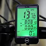 Lexiesxue SD - 576A Waterproof Auto Bike Computer Light Mode Touch Wired Bicycle Computer Cycling Speedometer with LCD Backlight