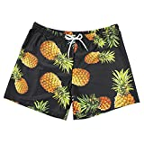 #8: PickUrStyle Men's Beach Short Swim Trunks Quick Dry Fashion Bathing Suit with Mesh Lining