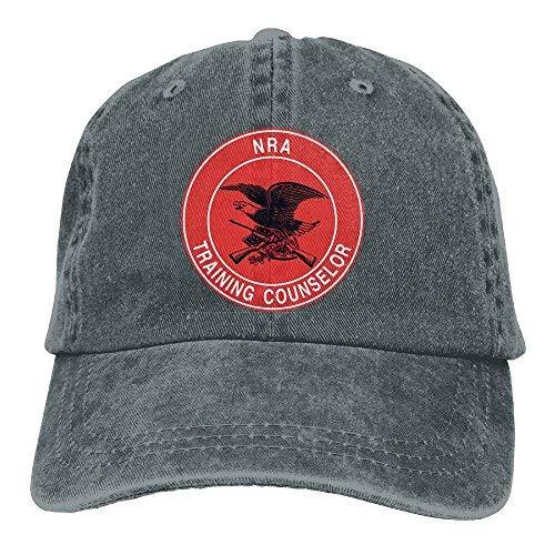 NRA Pistol Instructor Dad Hat Adjustable Denim Hat Classic Baseball - Pistol Nra