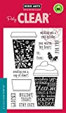 Hero Arts CL986 Coffee Cup Tags Card Making Kit