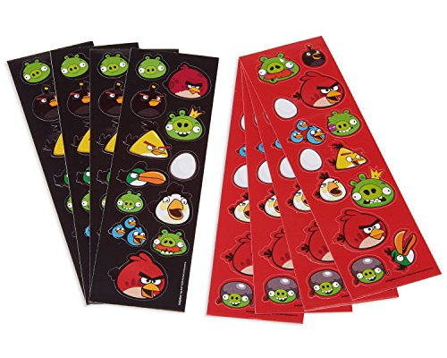 Angry Birds Sticker Strip | Party Favor | 8 -