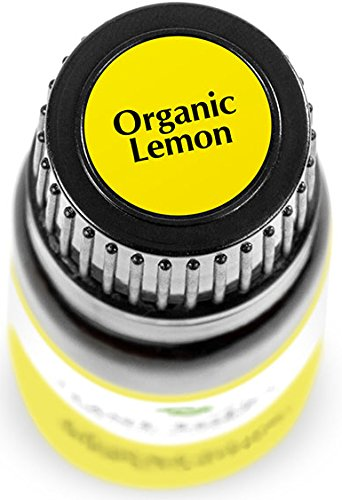 Plant Therapy USDA Certified Organic Lemon Essential Oil. 100% Pure, Undiluted, Therapeutic Grade.