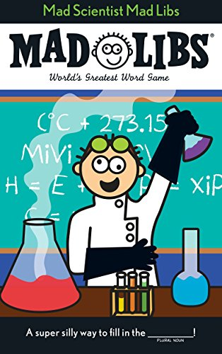 Mad Scientist Mad Libs -