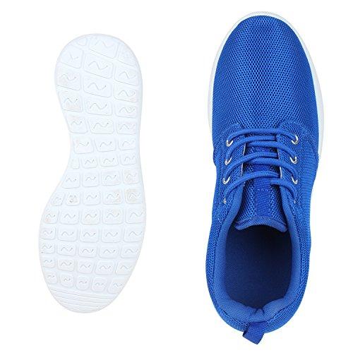 Damen Schnüren Profilsohle Flache Blau Unisex napoli Freizeitschuhe fashion Sportschuhe Laufschuhe Weiss Sneakers Herren Jennika t8Z8w1nq6