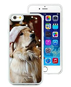 Customized iPhone 6 Case,Christmas Dog White iPhone 6 4.7 Inch TPU Case 19