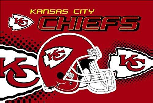 Kansas City Chiefs Flag Logo Flag 3x5- With Grommets