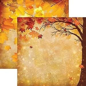 Harvest Glow Reminisce Best of Harvest Autumn Scrapbook Paper 5 Sheets