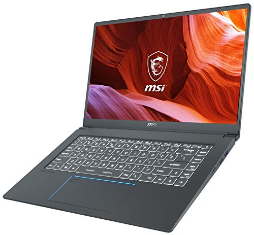 "MSI Prestige 15 A10SC-010 (i7-10710U, 32GB RAM, 1TB NVMe SSD, GTX 1650 4GB, 15.6"" 4K UHD, Windows 10 Pro) Professional Laptop"