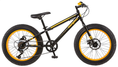 Mongoose Massif Boy's 20″ Fat Tire Bike