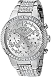 GUESS Women's U0850L1 Analog Display Quartz Silver Watch