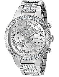 GUESS Women's U0850L1 Analog Display Quartz Silver Watch