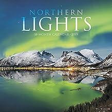 Northern Lights 2019 Wall Calendar