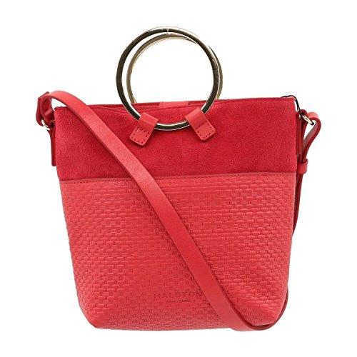Handbags Crossbody MH2224L4 Halston Heritage Womens CRIMSON 0ZEAXx