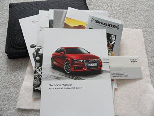 2015 Audi A3 and S3 Sedan Owners Manual