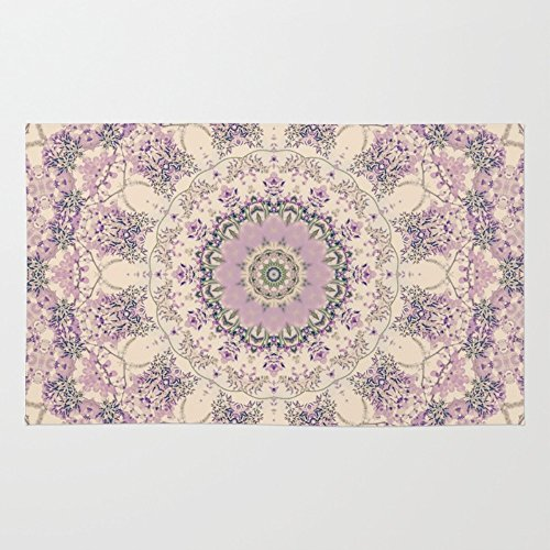 Society6 47 Wisteria Circle - Vintage Cream And Lavender