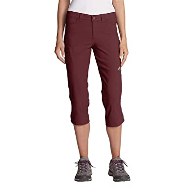 1dae7361b06 Eddie Bauer Women s Guide Pro Capris at Amazon Women s Clothing store