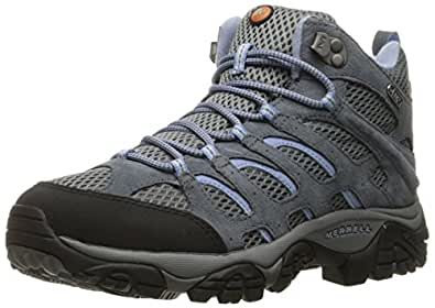 Merrel Hiking Shoes Wide Women Periwinkle