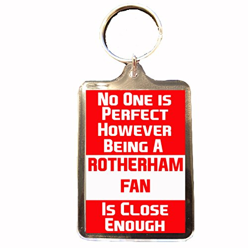 fan products of Rotherham United F.C - No One is Perfect Keyring
