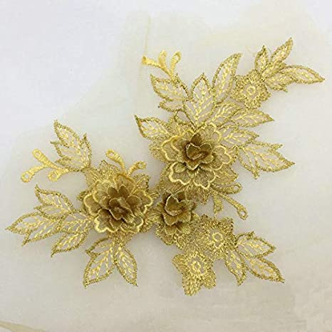 Sequined applique motif costume patch iron on 30 cm*15 cm //21*14 cm
