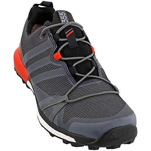 adidas outdoor Mens Terrex Agravic GTX Shoe Vista Grey / Black / Energy