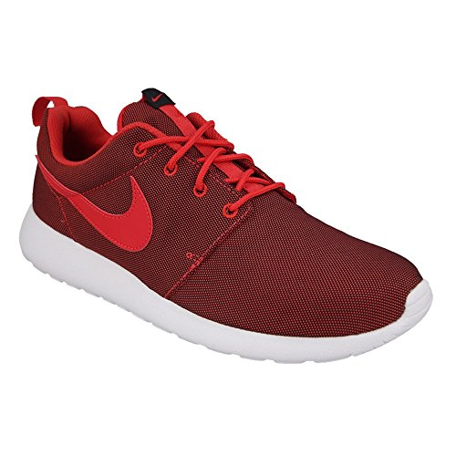 Nike Herren Roshe One Laufschuhe Universität Rot / Schwarz