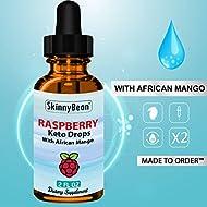 Keto Burn Raspberry™ Fat Burner Drops by SkinnyBean® Accelerated Ketosis