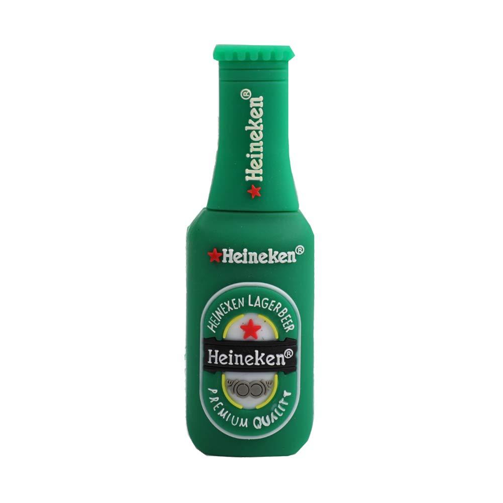 Shuda 1 pcs Flash USB Pen Drive Chiavette USB Forma della bottiglia di birra 2 GB/4 GB/8 GB/16 GB/32 GB Black Friday 2018 size 2GB (verde)