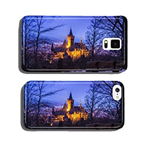 Views of the town in winter dusk cell phone cover case iPhone5
