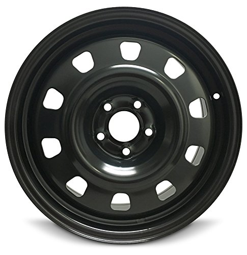 Road Ready Car Wheel For 2013-2016 Dodge Dart 17 Inch 5 Lug Steel Rim Fits R17 Tire - Exact OEM Replacement - Full-Size Spare (Best Tire Size For 17 Inch Rims)