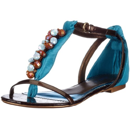 Killah HEATHER M00461-PT9271, Damen Sandalen/Zehentrenner Türkis