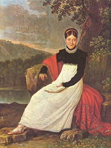 Lais Jigsaw Giuseppe Cammarano - Portrait of Queen Caroline in The Costume of a Neapolitan Peasant Woman 500 Pieces ()