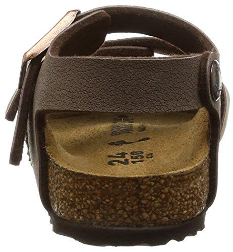 Birkenstock Birko Style flor Sandals Suede York Mocca New no 87033ren Unisex Child rqHIrA