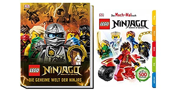 Lego® ninjagotm el mundo secreto de ninjas + Lego® ninjagotm ...