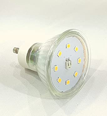 5 Watt = 50W SMD Led 230V GU10 Neutralweiss /& Warmweiss