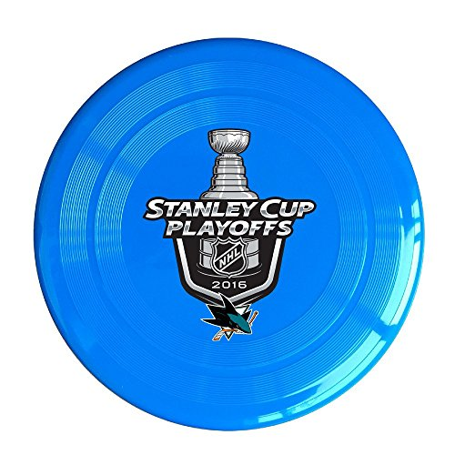 YQUE56 Unisex San Jose Ice Hohey Team Logo Outdoor Game Frisbee Flying Discs RoyalBlue (Ipod Touch 4 Cases Lego)