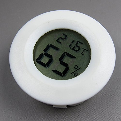 Alfie Pet by Petoga Couture - Misha Digital Thermometer and Hygrometer - Color: White by Alfie