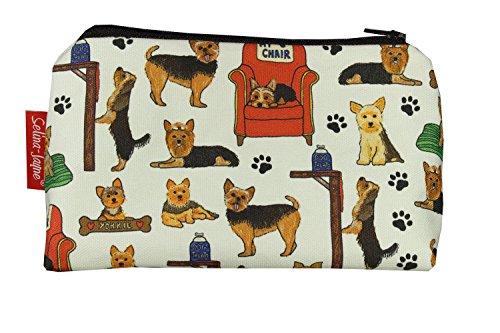 (Selina-Jayne Yorkshire Terrier Limited Edition Designer Toiletry Bag)
