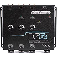 AudioControl LC6i Black 6 Channel Line Out Converter with Internal Summing