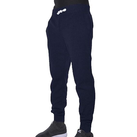 Pantalons pour Hommes Sport Casual Taille Élastique Cordon De Serrage  Solide Pantalon Pantalon De Survêtement Sportwear Jogging Outdoor Pants  M-3XL  ... c2087ef8acc1
