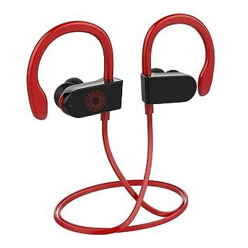 Nanle Auriculares Bluetooth Sport Running Wireless HD Auriculares estéreo Auriculares intrauditivos a Prueba de Ruido Auriculares