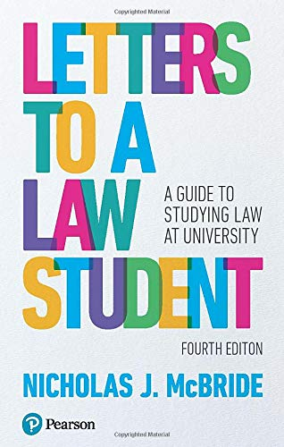 Buy Letters to a Law Student: A guide to studying law at university Book Online at Low Prices in India   Letters to a Law Student: A guide to studying law at