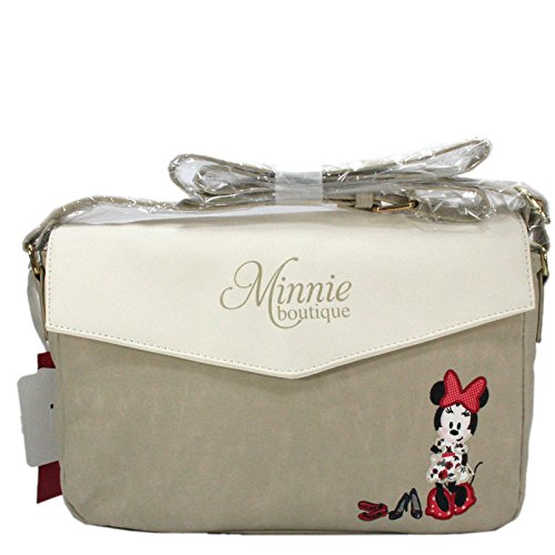 Disney d'épaule Mouse Minnie Collection Sac main Sac Femme à Nouvelle Beige Bandoulière rqrUY