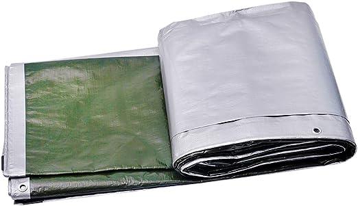 M-Y-L ToldosPE Carpa Plegable Lonas Lona Impermeable Resistente al Desgaste Resistencia al desgarro Poli Lona para la Planta de jardín al Aire Libre de la Cortina de Tierra Sheet Covers,4 * 6m: