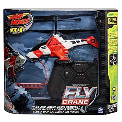 Air Hogs R/C Fly Crane Helicopter [Channel A]: Toys & Games