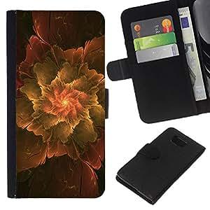 All Phone Most Case / Oferta Especial Cáscara Funda de cuero Monedero Cubierta de proteccion Caso / Wallet Case for Samsung ALPHA G850 // Abstract Leaf