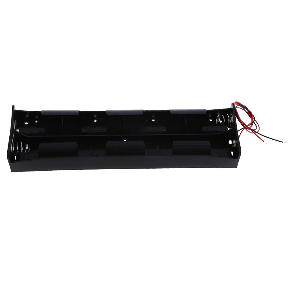 hot sale Chinatera Black 12V Battery Case Holder Case 8X D Size Cell ...
