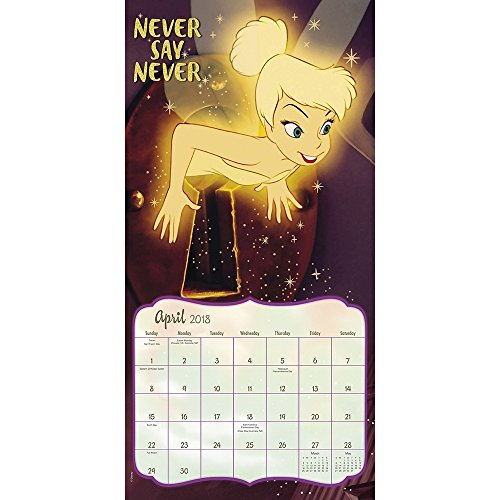 Tinker Bell 2018 Wall Calendar Photo #3